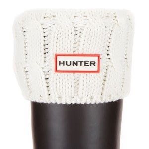Hunter Cable Knitted Tall Boot Socks